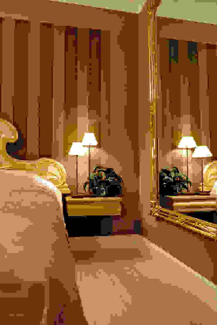Slaapkamer met uitstraling Eclectische slaapkamers van De Heeren Eclectisch