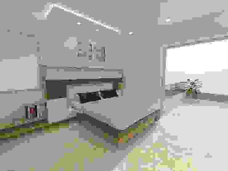Moderne Schlafzimmer von YATIKA INTERIORS Modern