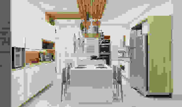 Küche von Confi Arquitetos