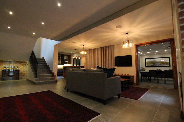 Lounge Area by Audio Visual Projects (PTY) Ltd Eclectic