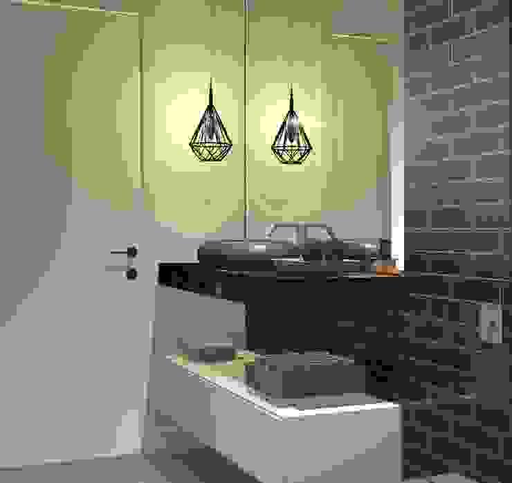 ARCHLAYOUT Arquitetura e Interiores Modern bathroom