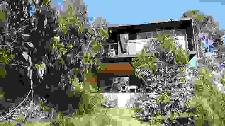 Casa QV m2 estudio arquitectos - Santiago Casas de estilo mediterráneo Concreto