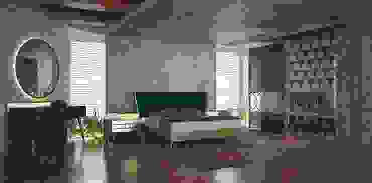 par Inan AYDOGAN /IA Interior Design Office Moderne Bois Effet bois