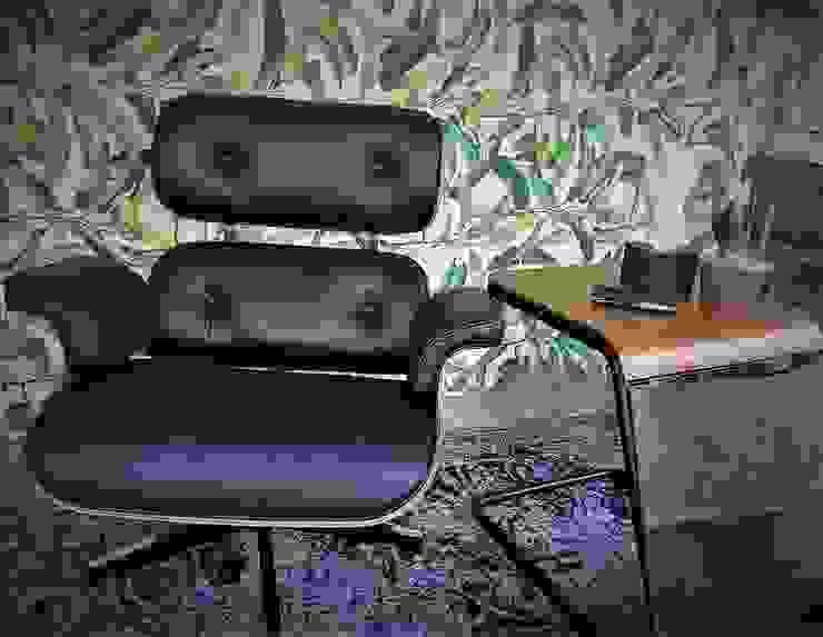 Sgabello Interiores Office spaces & stores Leather Black