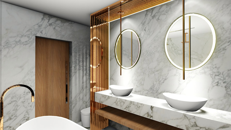Studio² Minimalist bathroom