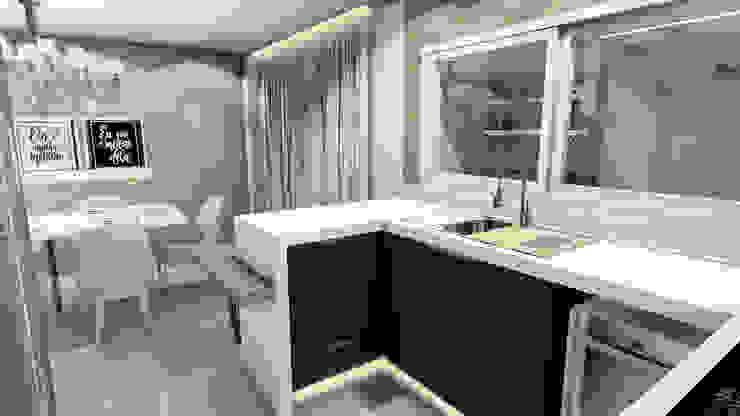 Cozinha integrada por Studio² Moderno