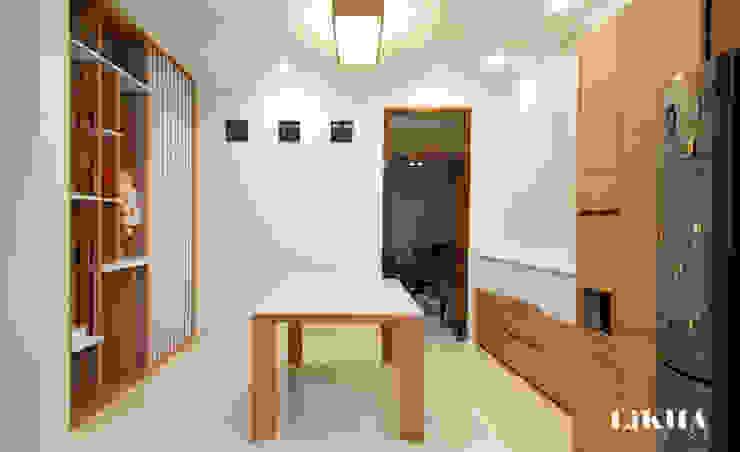 Ruang Makan Ruang Keluarga Minimalis Oleh Likha Interior Minimalis Kayu Lapis