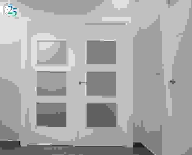 puerta cristalera doble de Almacén de Carpintería Gómez Minimalista