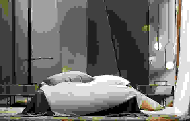 he.d group Minimalist bedroom Wood Green