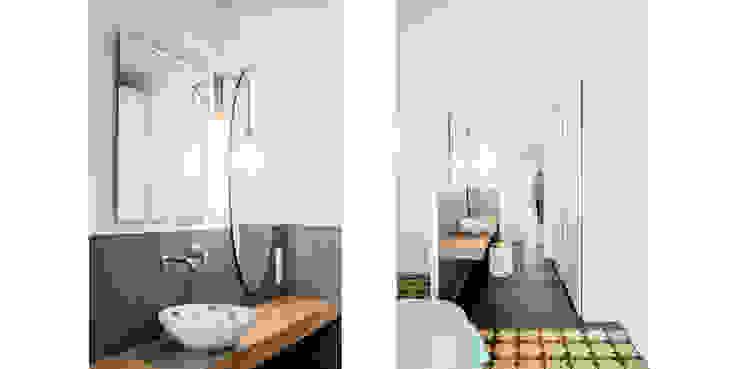 Baño Dormitorio Principal (Suit) Dormitorios de estilo ecléctico de Abrils Studio Ecléctico