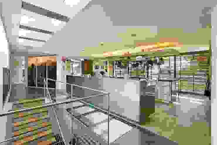 View of Kitchen by Van der Merwe Miszewski Architects Modern Iron/Steel