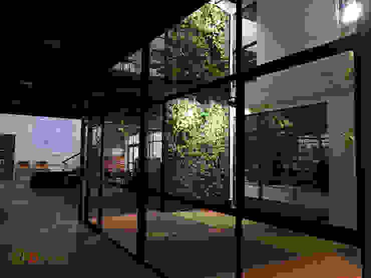 jardines verticales Teodoro Wickel Oficinas y bibliotecas de estilo rural de DVida Jardines verticales Rural