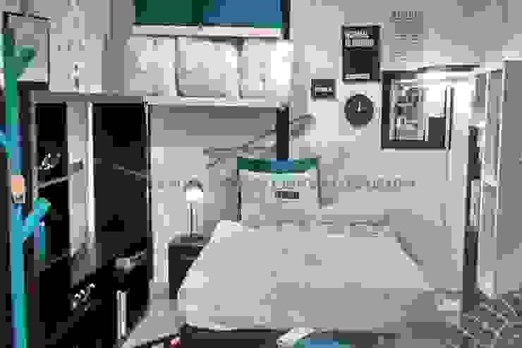 habitación para adultos Habitaciones modernas de Sara villa diseño interior Moderno Madera Acabado en madera