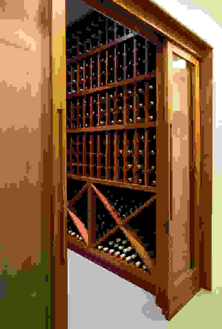 Raquel Junqueira Arquitetura Cave à vin moderne