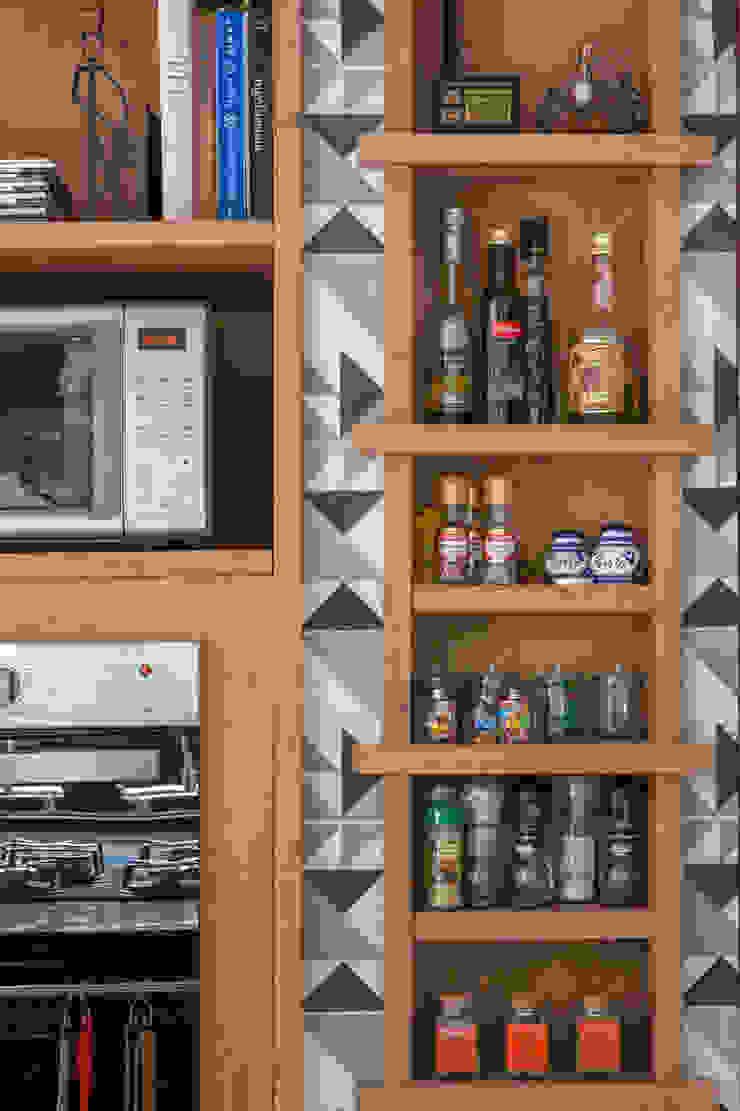 Raquel Junqueira Arquitetura Cuisine rustique