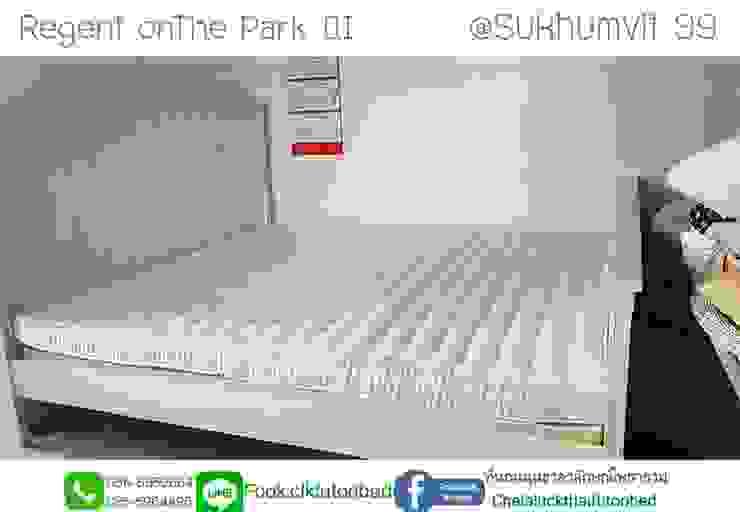 ที่นอน6ฟุต ที่นอนพับ natural futon bed: ที่เรียบง่าย  โดย chalaluck, มินิมัล