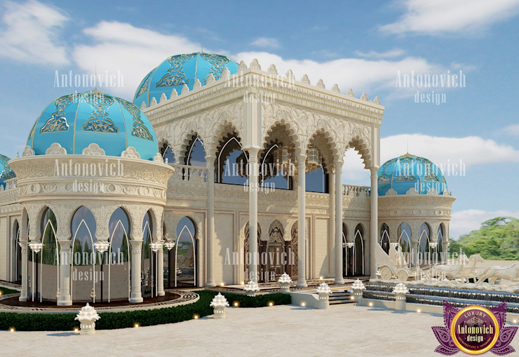 The restaurant architectural design by Katrina Antonovich Asian style houses by Luxury Antonovich Design Asian