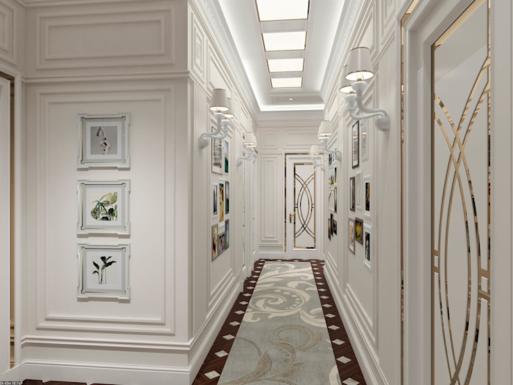 Corridor - Interior design by DMR DESIGN AND BUILD SDN. BHD.