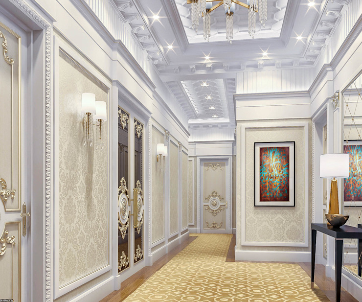 Entrance hall - Interior design:   by DMR DESIGN AND BUILD SDN. BHD.