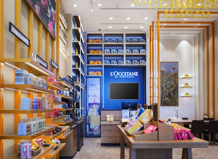 L'Occitane en Provence—Vattanac Capital by DMR DESIGN AND BUILD SDN. BHD.