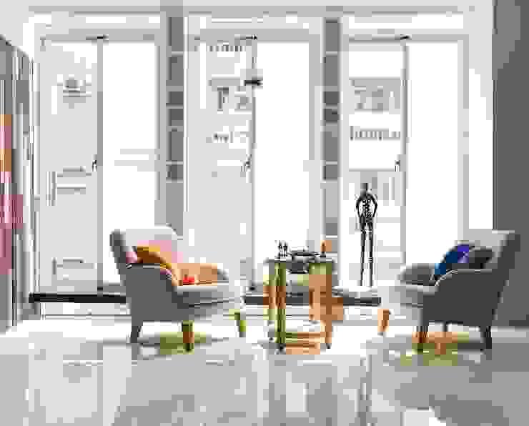 THE WALL 亞洲風玄關、階梯與走廊 根據 禾光室內裝修設計 ─ Her Guang Design 日式風、東方風