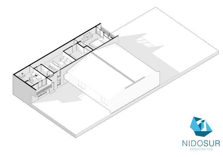 Planos de NidoSur Arquitectos - Valdivia Moderno