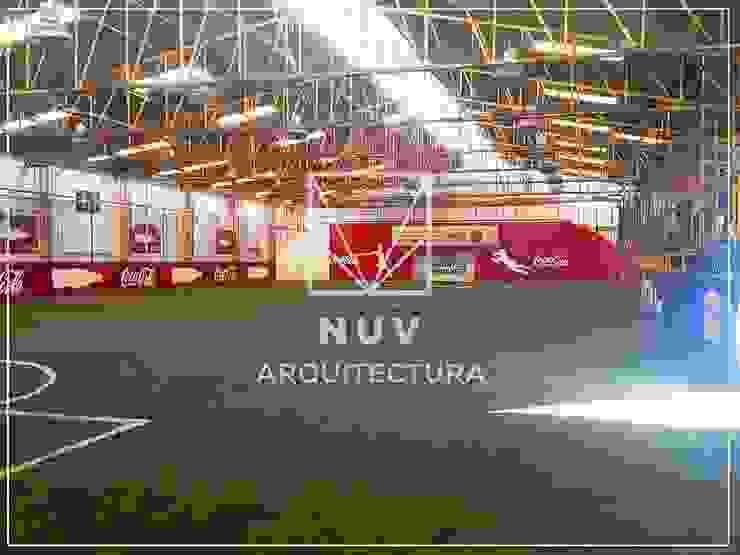 Acuática Hernández de NUV Arquitectura Minimalista