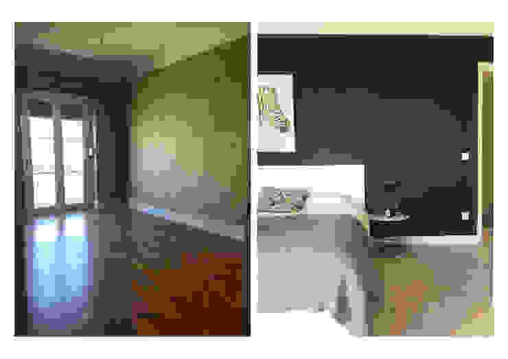 Remodelação de quarto principal Quartos modernos por CSR Moderno