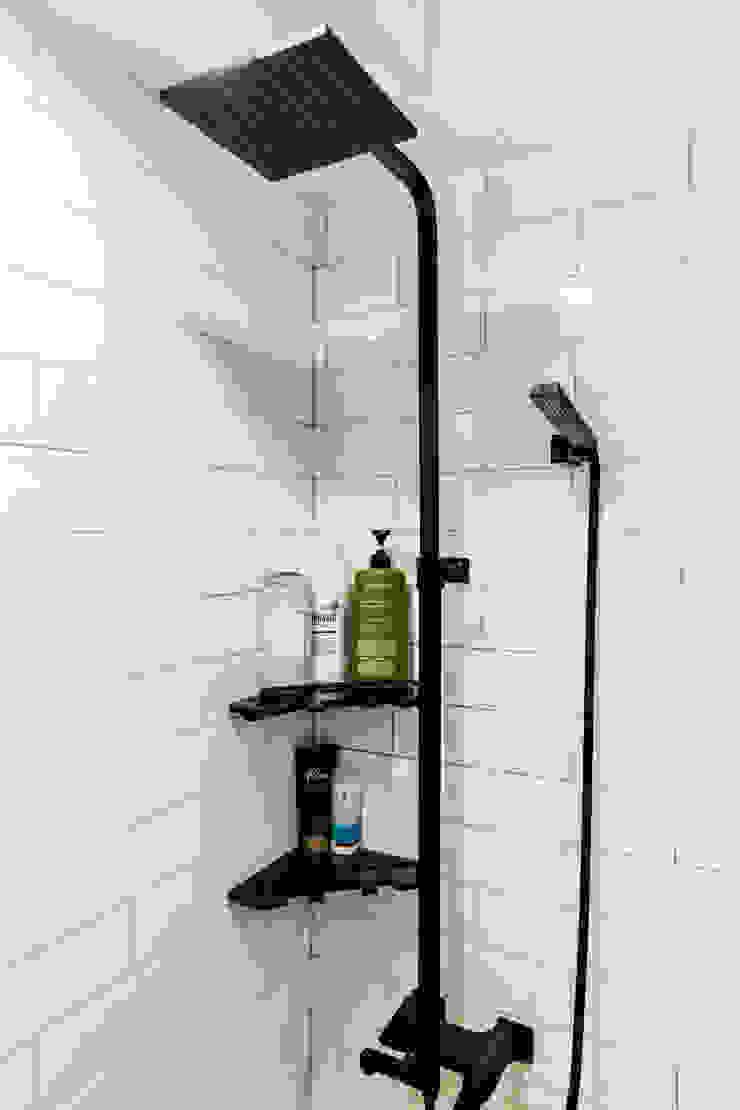 現代浴室設計點子、靈感&圖片 根據 봄디자인 現代風
