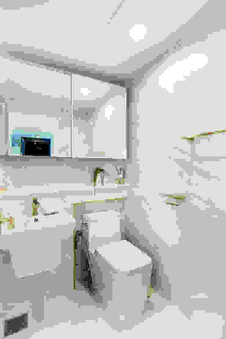 거실욕실 모던스타일 욕실 by 봄디자인 모던