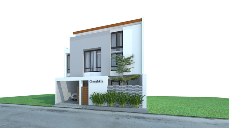 by sawang architect Tropical Reinforced concrete