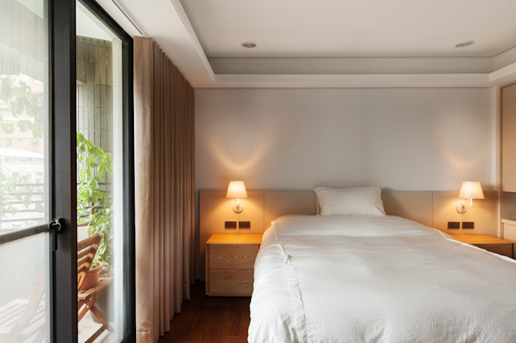 Bedroom Kamar Tidur Minimalis Oleh March Atelier Minimalis Kayu Wood effect
