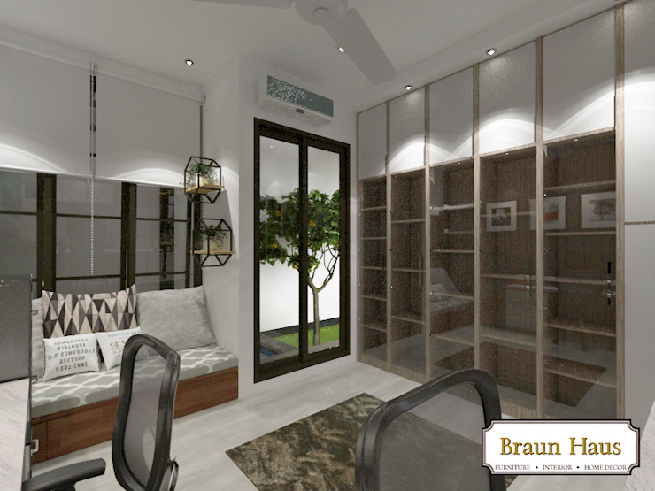 Urban House Ruang Studi/Kantor Modern Oleh Braun Haus Modern