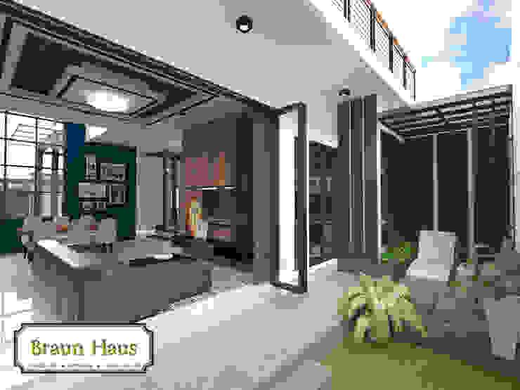 Urban House Taman Modern Oleh Braun Haus Modern