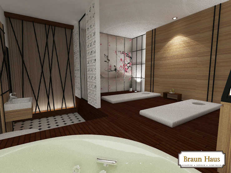 Spa and Massage Spa Modern Oleh Braun Haus Modern