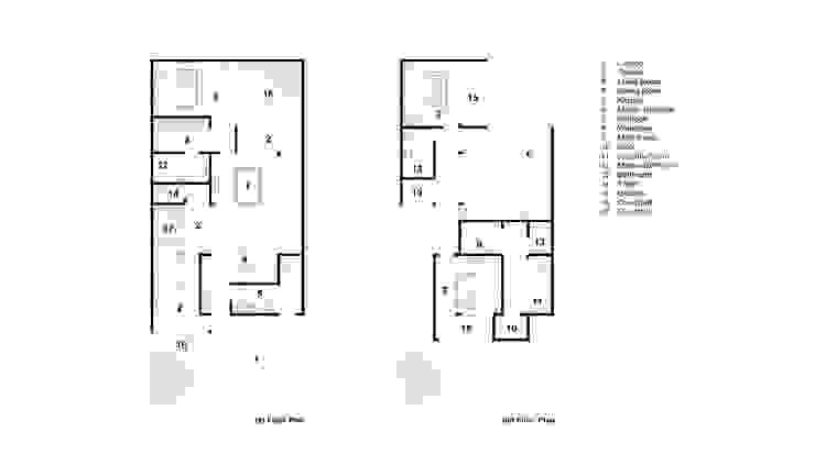 Floor Plan Rekabentuk ID Rumah tinggal Beton White