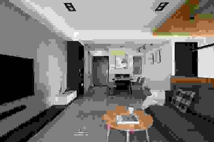 公共空間 根據 極簡室內設計 Simple Design Studio 簡約風