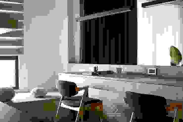 書桌 根據 極簡室內設計 Simple Design Studio 簡約風