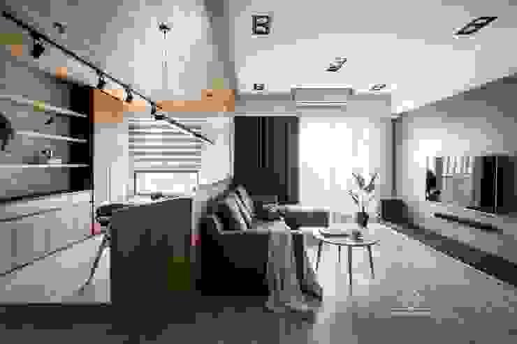 書房/客廳 根據 極簡室內設計 Simple Design Studio 簡約風