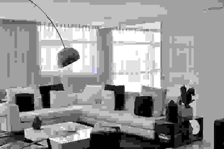 decoração de sala de estar Salas de estar modernas por Nuno Ladeiro, Arquitetura e Design Moderno