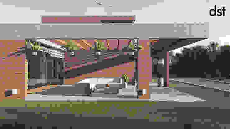 Casa Guevara Casas minimalistas de DST arquitectura Minimalista