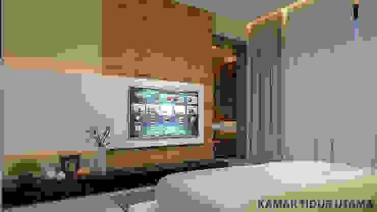 YN House, Interior Design Kamar Tidur Modern Oleh dk.std.id Modern Kayu Lapis