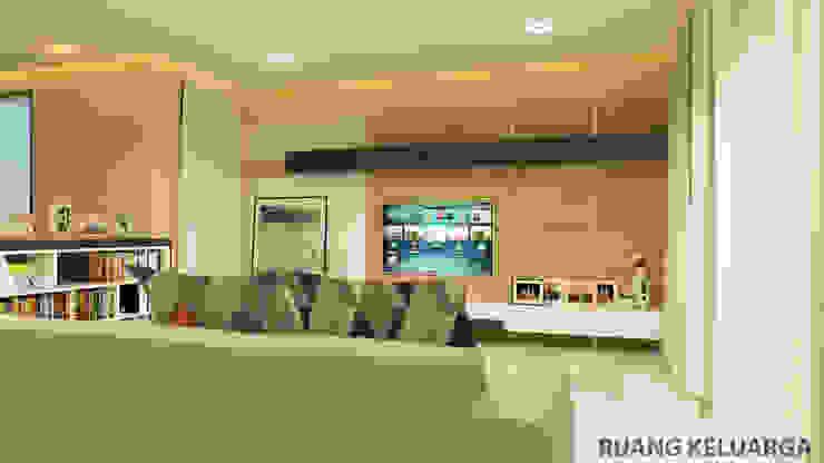 YN House, Interior Design Ruang Keluarga Modern Oleh dk.std.id Modern Kayu Lapis