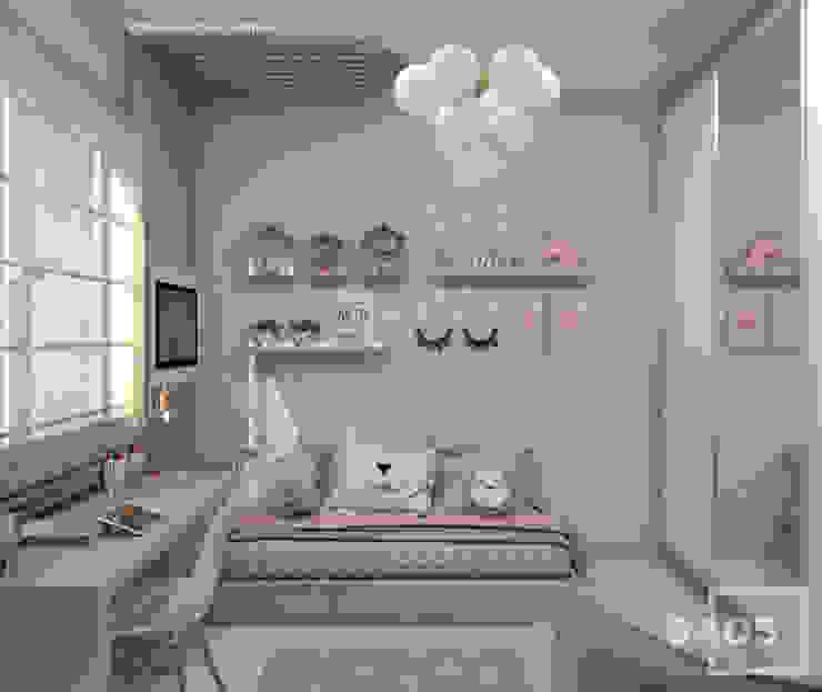 STUDIO 405 - ARQUITETURA & INTERIORES Kinderzimmer Mädchen