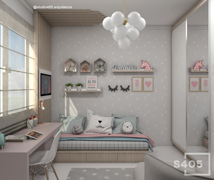 by STUDIO 405 - ARQUITETURA & INTERIORES Scandinavian