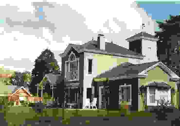 Casa Clásica en Martindale Club de Campo de Estudio Dillon Terzaghi Arquitectura - Pilar Clásico Ladrillos