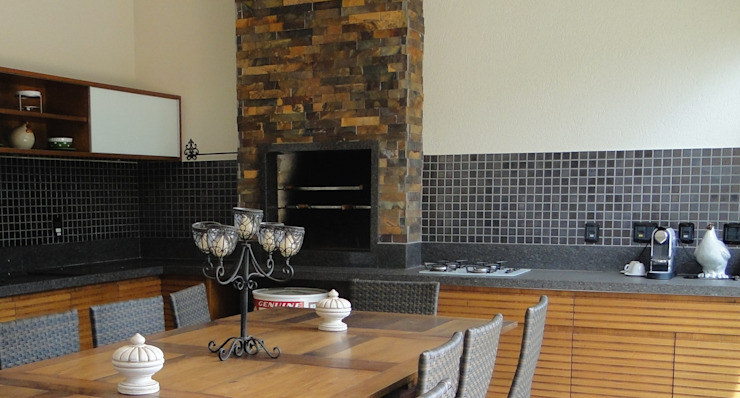 Erlon Tessari Arquitetura e Design de Interiores Modern Kitchen