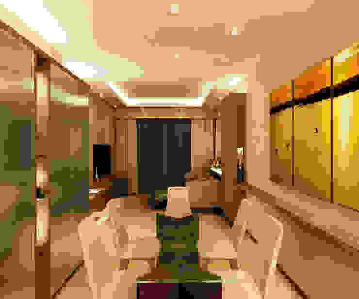 Timeless Design Dining Room Minimalist dining room by FINE ART LIVING PTE LTD Minimalist Plywood