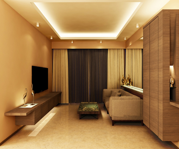 Timeless Design Living Room Minimalist living room by FINE ART LIVING PTE LTD Minimalist Plywood