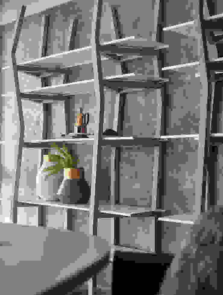 Skandynawskie ściany i podłogi od 耀昀創意設計有限公司/Alfonso Ideas Skandynawski